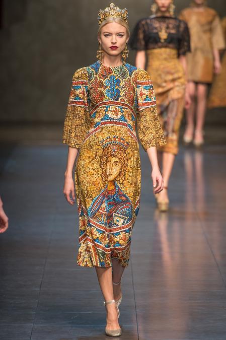 Dolce and Gabbana Fall 2013