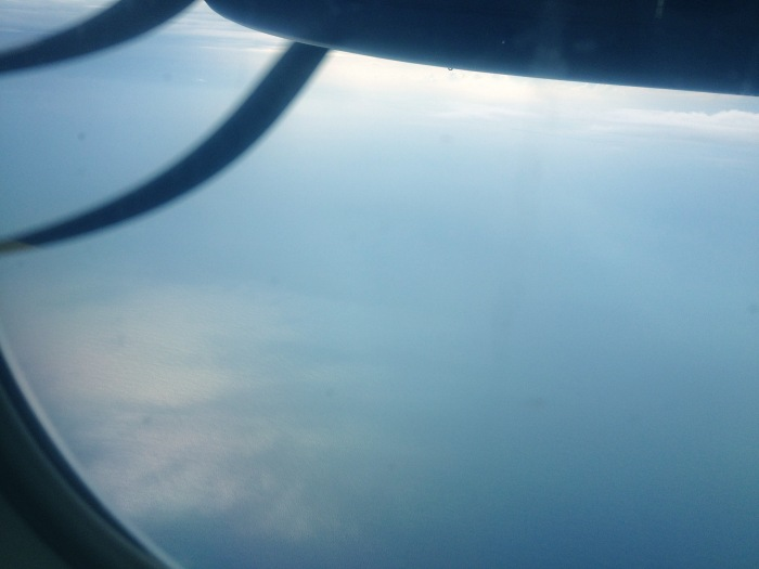Picture from the airplane