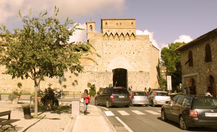 evelina galli in tuscany:san gimignano